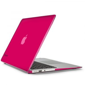 husa carcasa macbook air 13 inch roz